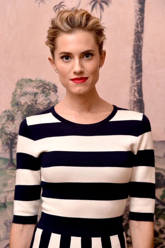ALLISON WILLIAMS at Get Out Bafta Screening in New York 11/12/2017