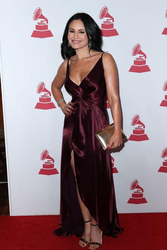 ALVERA DELEON at 2017 Latin Recording Academy Person of the Year Awards in Las Vegas 11/15/2017