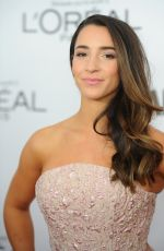 ALY RAISMAN at Glamour Women of the Year Summit in New York 11/13/2017