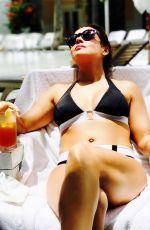 ALYSSA MILANO in Bikini, 10/30/2017 Instagram Pictures