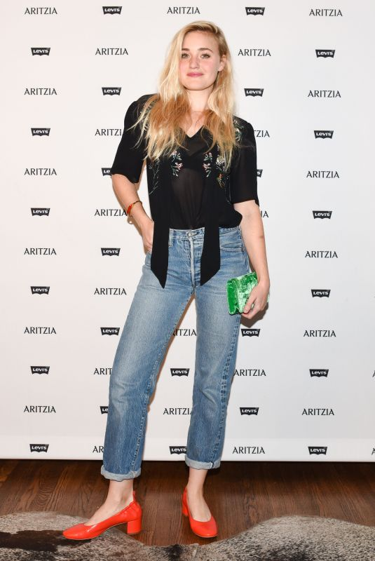 AMANDA AJ MICHALKA at Levi's by Aritzia Collection Launch in Los Angeles 11/16/2017