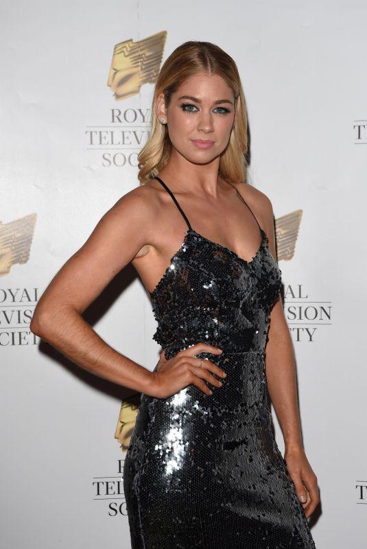 AMANDA CLAPHAM at Royal Television Society Awards in Manchester 11/11/2017