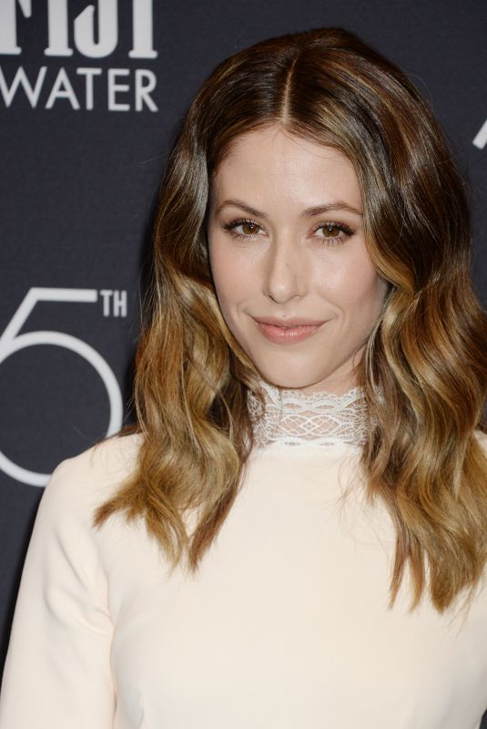 AMANDA CREW at HFPA & Instyle Celebrate 75th Anniversary of the Golden Globes in Los Angeles 11/15/2017