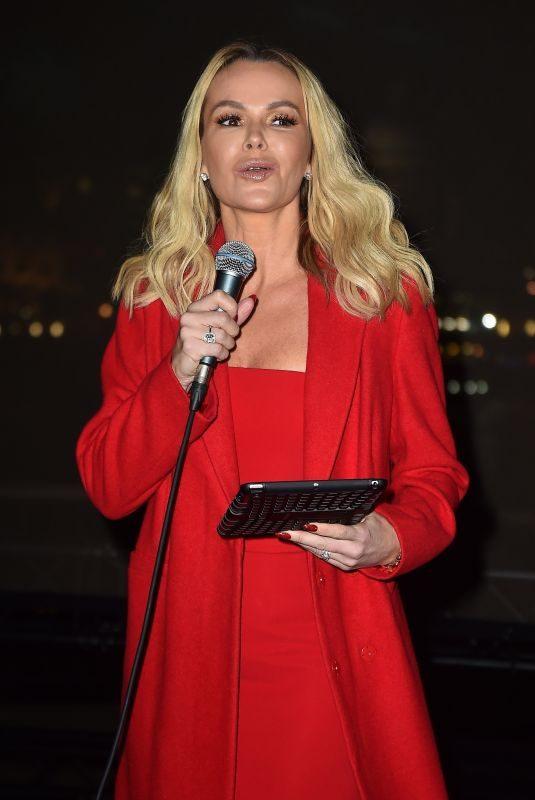AMANDA HOLDEN at MacMillan Cancer Support Winter Gala in London 11/29/2017