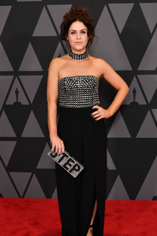AMANDA LIPITZ at AMPAS 9th Annual Governors Awards in Hollywood 11/11/2017