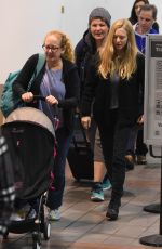 AMANDA SEYFRIED at LAX Airport in Los Angeles 11/27/2017