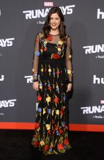 AMBER CONEY at Runaways Premiere in Los Angeles 11/16/2017