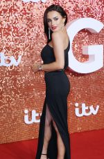 AMBER DAVIES at ITV Gala Ball in London 11/09/2017