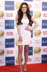 AMBER DAVIES at OK! Magazine Beauty Awards in London 11/28/2017