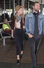 AMBER HEARD at Airport in Sydney 11/15/2017