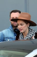 AMBER HEARD Out and About in Sydney 11/15/2017