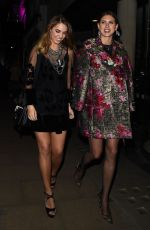 AMBER LE BON at Jimmy Choo x Annabel's Party in London 11/08/2017