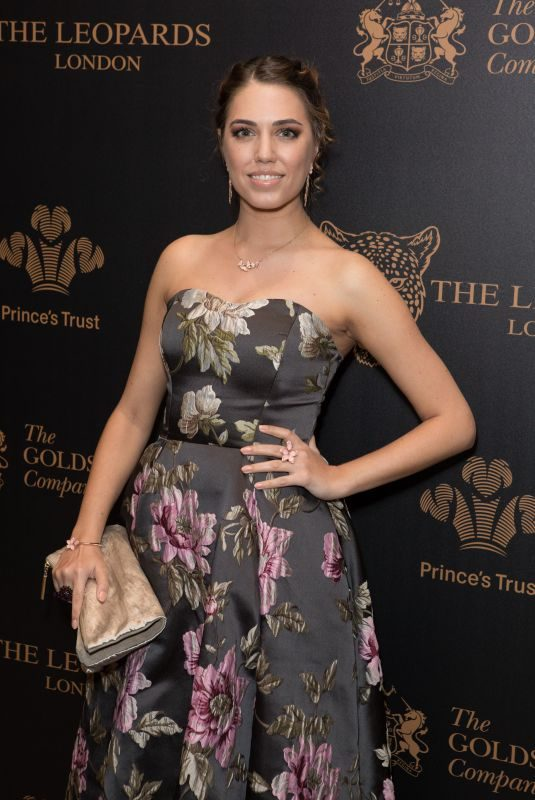 AMBER LE BON at Leopard Awards in Aid of the Prince's Trust in London 11/15/2017