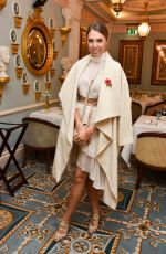AMBER LE BON at Megan Hess Afternoon Tea in London 11/10/2017