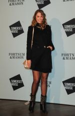 AMBER LE BON at Skate at Somerset House VIP Launch Party in London 11/14/2017