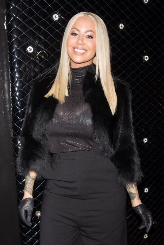 AMBER ROSE Arrives at Ace of Diamonds in West Hollywood 11/28/2017
