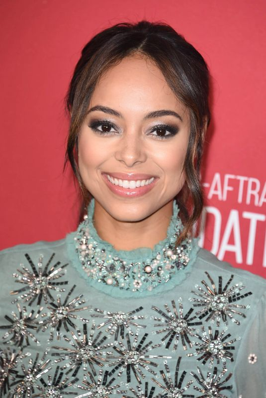 AMBER STEVENS at Sag-Aftra Foundation Patron of the Artists Awards in Beverly Hills 11/09/2017