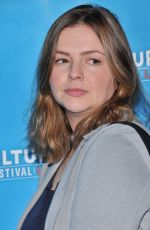 AMBER TAMBLYN at Feminist AF Panel at Vulture Festival in Hollywood 11/18/2017