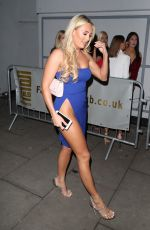 AMBER TURNER at Faces Nightclub in Essex 11/11/2017