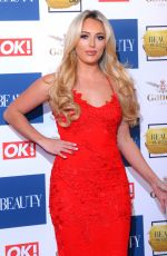 AMBER TURNER at OK! Magazine Beauty Awards in London 11/28/2017
