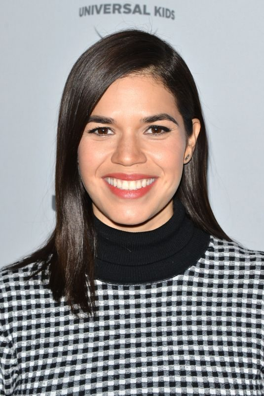 AMERICA FERRERA at NBC/Universal's Press Junket in Los Angeles 11/13/2017