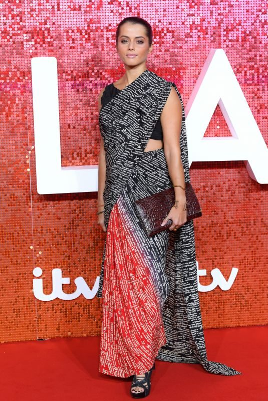 AMRITA ACHARIA at ITV Gala Ball in London 11/09/2017