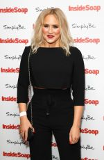 AMY WALSH at Inside Soap Awards 2017 in London 11/06/2017