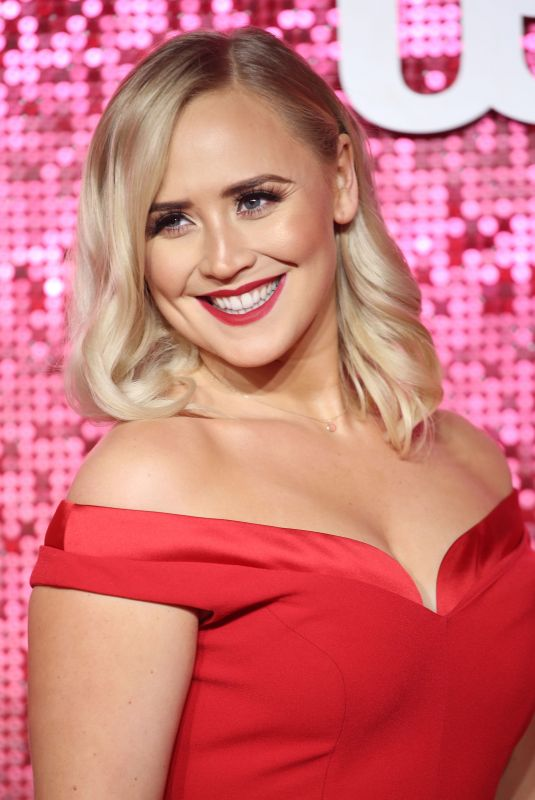AMY WALSH at ITV Gala Ball in London 11/09/2017