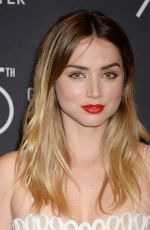 ANA DE ARMAS at HFPA & Instyle Celebrate 75th Anniversary of the Golden Globes in Los Angeles 11/15/2017