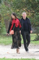 ANA IVANOVIC and Bastian Schweinsteiger on Vacation in Rome 11/11/2017