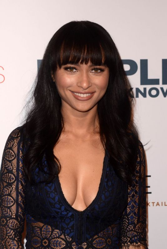 ANDREA LE BLANC at People You May Know Premiere in Los Angeles 11/13/2017