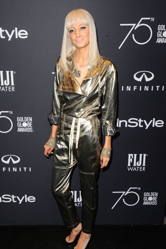 ANDREA RISEBOROUGH at HFPA & Instyle Celebrate 75th Anniversary of the Golden Globes in Los Angeles 11/15/2017