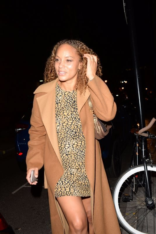 ANGELA GRIFFIN at Everybody's Talking About Jamie Press Night in London 11/22/2017