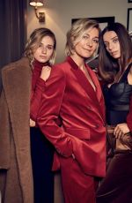ANGELA SARAFYAN and RITA VOLK in Vogue Magazine, Russia November 2017