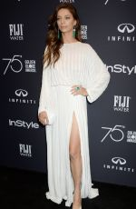 ANGELA SARAFYAN at HFPA & Instyle Celebrate 75th Anniversary of the Golden Globes in Los Angeles 11/15/2017