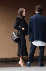 ANGELINA JOLIE Arrives at a Studio in Hollywood 11/12/2017