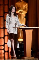 ANGELINA JOLIE at AMPAS 9th Annual Governors Awards in Hollywood 11/11/2017
