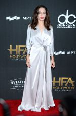 ANGELINA JOLIE at Hollywood Film Awards in Los Angeles 11/05/2017