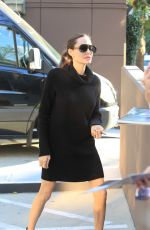 ANGELINA JOLIE Leaves Directors Guild of America in Hollywood 11/04/2017