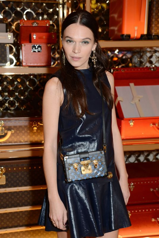 ANNA BREWSTER at Louis Vuitton x Vogue Party in London 11/21/2017