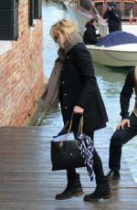 ANNA FARIS and Michael Barrett at Arrives in Venice 11/14/2017