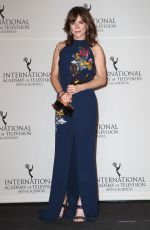 ANNA FRIEL at 2017 International Emmy Awards in New York 11/20/2017