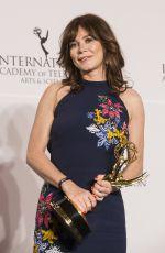 ANNA FRIEL at 2017 International Emmy Awards in New York 11/20/2017