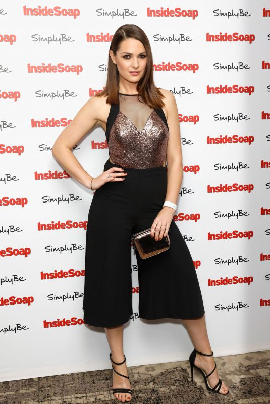 ANNA PASSEY at Inside Soap Awards 2017 in London 11/06/2017