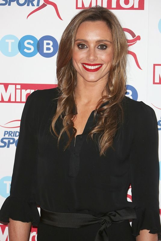 ANNA WOOLHOUSE at Pride of Sport Awards in London 11/22/2017
