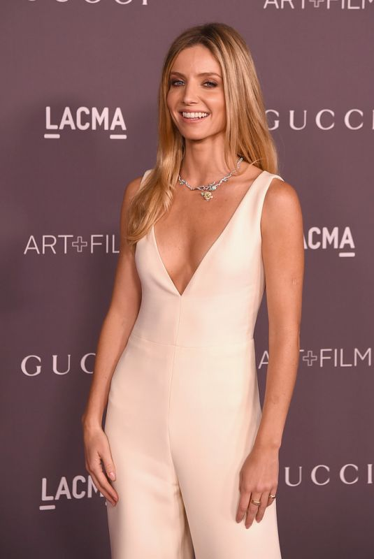 ANNABELLE WALLIS at 2017 LACMA Art + Film Gala in Los Angeles 11/04/2017