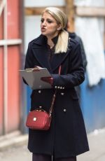 ANNALEIGH ASHFORD on the Set of Second Act in New York 11/07/2017