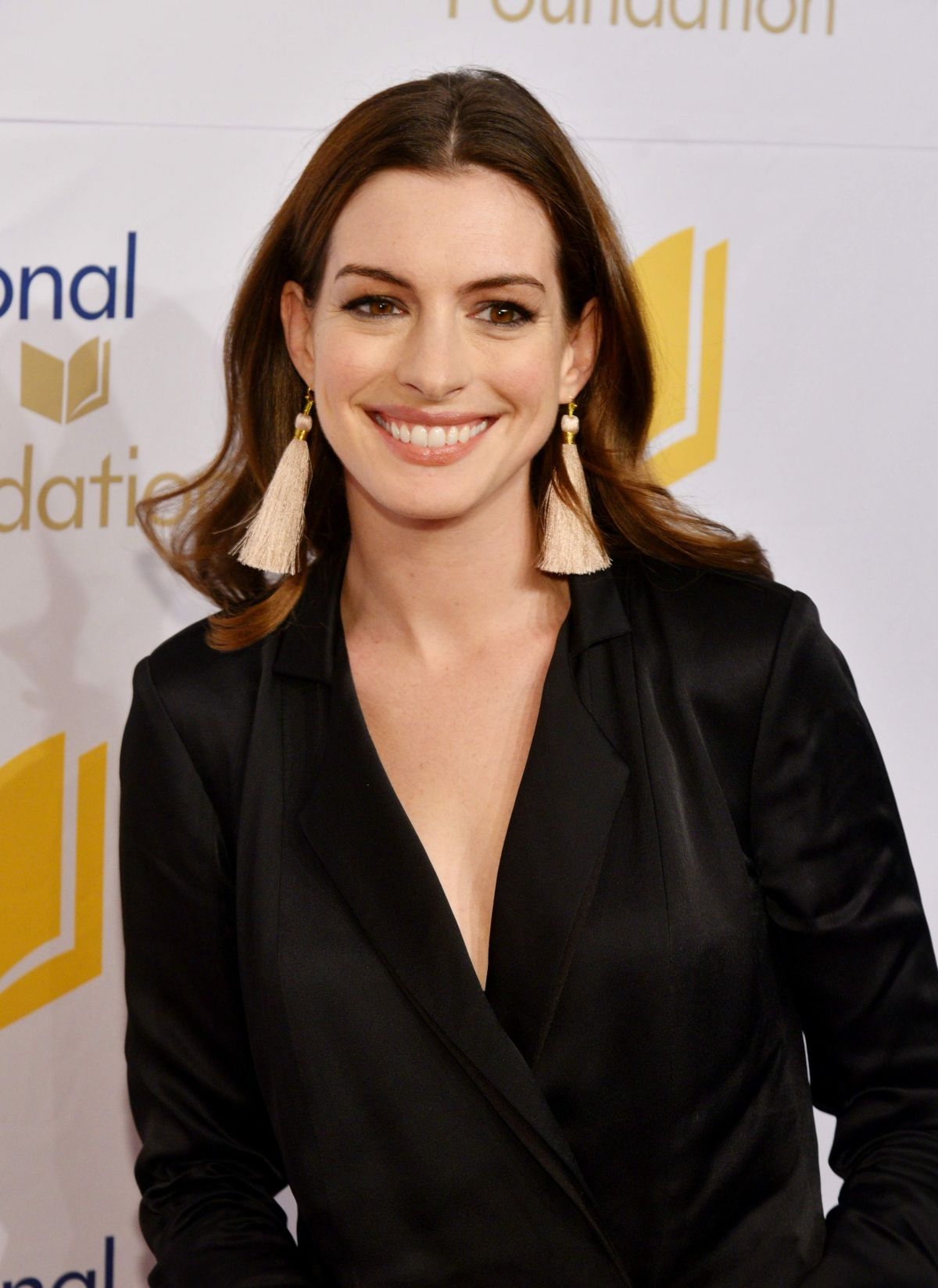 ANNE HATHAWAY at 68th National Book Awards in New York 11 ... Anne Hathaway