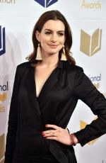 ANNE HATHAWAY at 68th National Book Awards in New York 11/15/2017