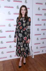 ANNE HATHAWAY at The Children's Monologues at Carnegie Hall in New York 11/13/2017